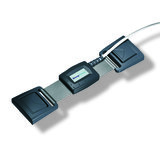 Piezo Respiratory Effort Kit, Double Buckle, Adult, Abdomen / Key Connector_