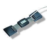 Piezo Respiratory Effort Kit, Adult, Double Buckle, Chest / Key Connector_