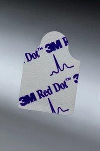 3M Red Dot TAB EKG elektrode extra klevende gel, 2360