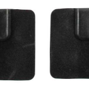 MRI-compat. rubber electrodes,5x5