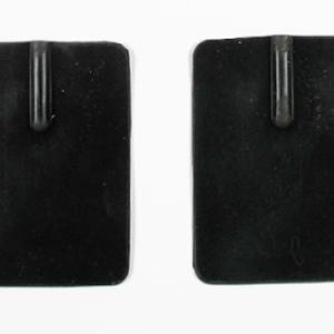 TDCS rubber elektroden, 5x7 cm,paar