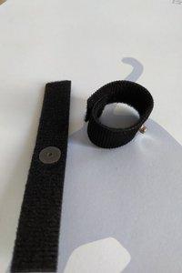 Velcro vinger gSR/EDA electrode, per stuk