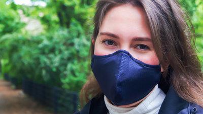 Herbruikbaar gezichtsmasker (mondkapje)