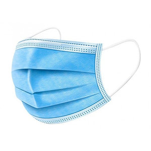 Disposable Facemask (mondkapje), 3layer, noseclip support