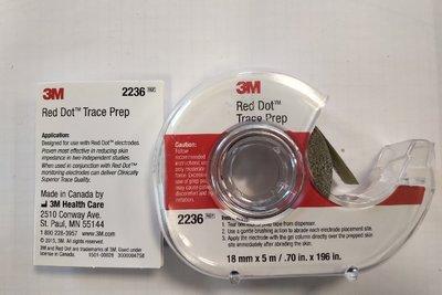 3M Red Dot Trace Prep Abrasive Tape