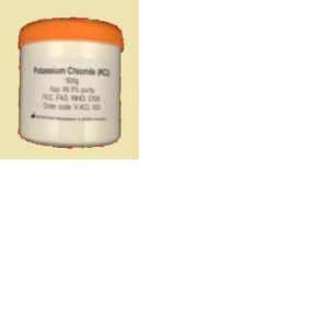 Potassium Chloride (KCl) 500 gr