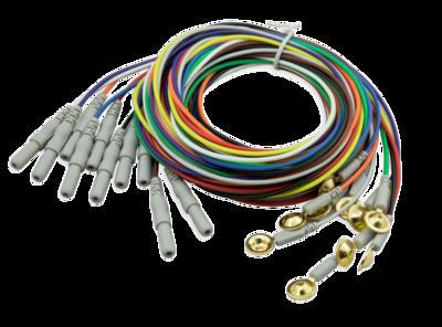 CNSAC Gold Cup Electrodes, set van 10 stuks