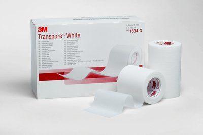 3M Transpore White Chirurgische Hechtpleister - 1534-0