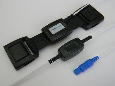 Piezo Respiratory Effort Kit, Adult, Double Buckle, Chest / Key Connector